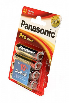 Элемент питания Panasonic Pro Power LR6PPG/4BP LR6 BL4