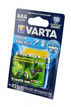Элемент питания VARTA HIGH ENERGY/LONGLIFE POWER 4903 113 414 LR03 BL4